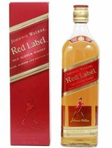 Johnnie Walker Red label 0,75 ml
